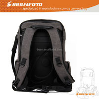 Besnfoto Waterproof Canvas Camera Backpack 2014 Bag for Canon Nikon