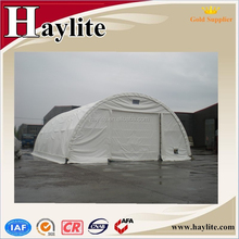 large warehouse storage tent