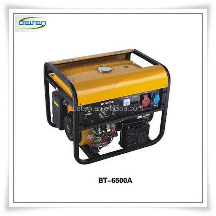 Precio barato 6kw tipo silencioso generador del motor de for Generador gasolina barato