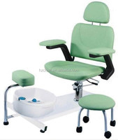 2015 Professional Pedicure and Manicure Equipment with foot basin and stool/High quality salon pedicure chairs