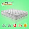high class bed euro top spring soft spring mattress