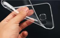 clear smooth Gel Soft TPU case For Samsung Galaxy note 5