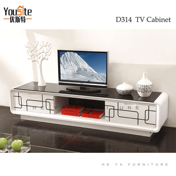 living room showcase laminate tv cabinet wall panel with