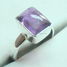 925 Sterling silver Antique Ring wholesale jewelry natural semi precious gemstone