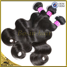 No Chemical Processed Human Hair, One Donor, Cheap Body Wave Hair remy weft