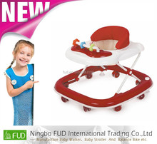 new model baby walker X219 inflatable round baby walker china 8 wheels