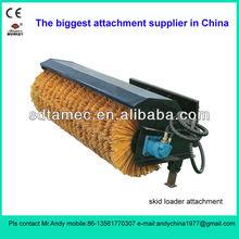 skid steer loader attachment angle broom (skid loader attachment,bobcat attachment)