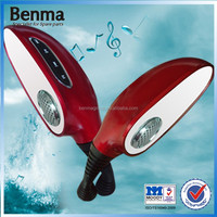 good quality new style electric sound motorcycle MP3 rear mirror