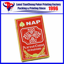 2015 FAMOUS BRAND NAP paper playing cards are selling like hot cakes
