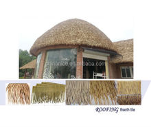Resistente a la intemperie alta calidad Reed Palapa paja paraguas