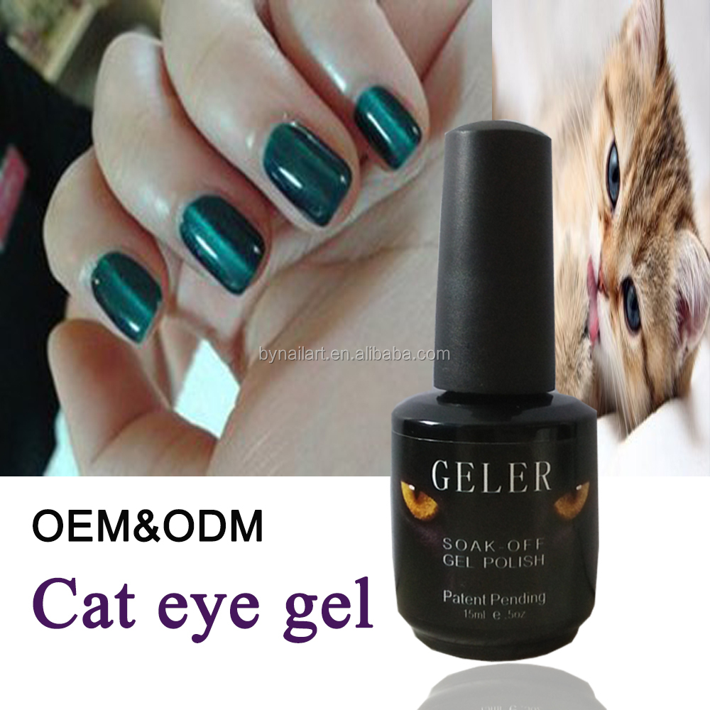 Cheap Hair Salons : factory cheap beauty salon professional 3D cat eyes gel for nail art ...