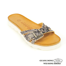 summer newest style comfortable useful casual women nude beach walk make sole for slipper buckle vamp design open toe