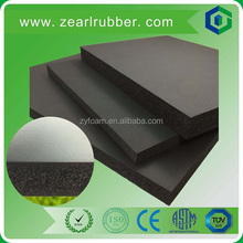 nbr foam thermal insulation rubber sheet for HVAC