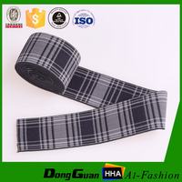 Custom Industrial Jacquard Woven Elastic Webbings For Garments