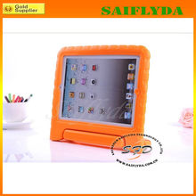 Cover Stand Cartoon EVA Cover silicon handle case for ipad 4
