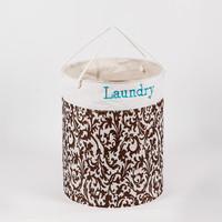 Round Laundry Bag / Polyester laundry basket