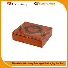Top quality Luxury Lacquer Mahogany Wood Boxes