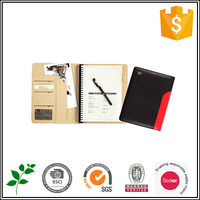 ISO9001 audited factory 2016 new Custom gift journal diary PU leather cover notebook