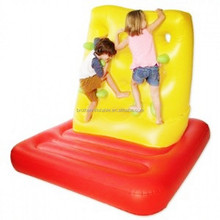 2015 hot funny inflatable climbing wall