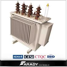 power frequency 60hz 13.8kv/4.16kv 167 kva electrical transformer