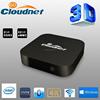 Cloudnetgo Win 8.1 + Android 4.4 Dual OS Mini PC TV Box Intel Z3735F Quad Core 2GB RAM 32GB ROM Smart TV box KODI preinstalled