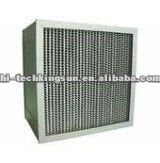 ISO and SGS approved Deep-pleated HEPA Filter