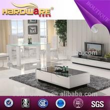china mobília da sala de design moderno mesa de vidro modelos
