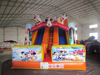 2015 New arrival Inflatables playground slide cheap inflatable water slides