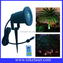 Red and green static starry twinkling outdoor christmas decoration light laser lighting