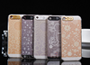 Fashion clear mobile phone Flash Light Cases Cover For iPhone 4 4S