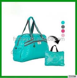 2015 New design wholesale fashion travel bag women large colorful waterproof duffel bags