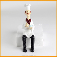 Wonderful cook action figure for collect