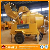 JZR350 Mini Mobile concrete mixer machine specifications