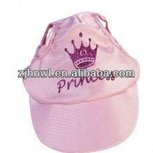Baseball Cap Cute for dog Large Pink Princess Hat