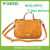 Made in china branded leather mexico new style fashion ladies handbag