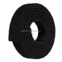 3cm(W) 1M Nylon Cable Ties Straps Roll Wraps Hook Loop Fastener For Laptop Computer TV Wire Cord Management Organizer