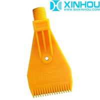 Gold supplier supply ABS air blowing spray plastic wind jet nozzle