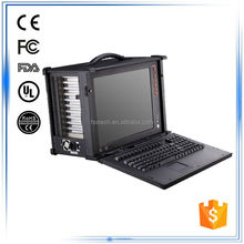 "15"" 10 PCI/PCI - E/ISA expansion slot rugged laptop computer"