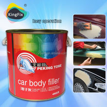 low smell red hardener 2 part epoxy putty for car repair