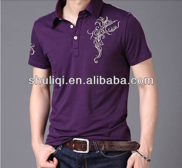 Custom bulk mature style cotton polyester polo t shirts for Cheap custom embroidered polo shirts
