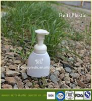 2015 NEW hight quality PET shower gel/ hand washing/ sanitizer gel foamed pump bottle
