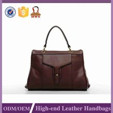 New Style Trendy Leather Material Tote Satchel Bag Manufacturer