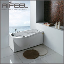 1 person indoor bathroom square freestanding massage acrylic corner sitting bathtub