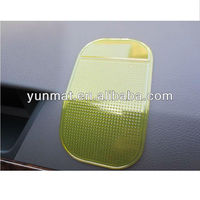 PU gel anti slip pad for car cellphone holder
