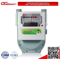 Smart diaphragm Gas Meter with remote control