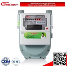 Diafragma medidor de gás inteligente com controle remoto