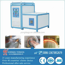 Small size easy install and operating induction heat treating machine with CE