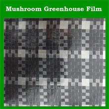 mushroom greenhouse film, black and white Checkered plastic film, uv protection greenhouse film