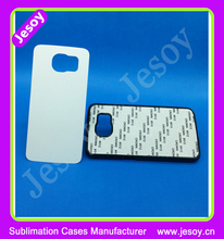 JESOY 2D Sublimation case with metal insert, for Samsung 2D Sublimation case blanks, Sublimation Cover Case