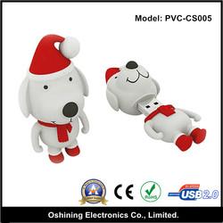minion dog shape pvc promotional wholesale cheap factory price 2.0 pen drive(PVC-SC005)